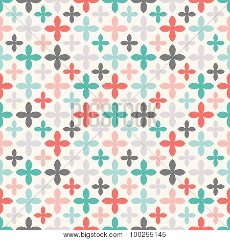 Floral  seamless pattern. Endless texture