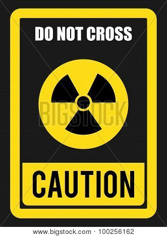 Caution design.