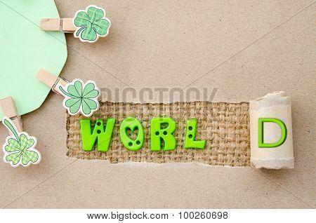 World. Environment Concept.