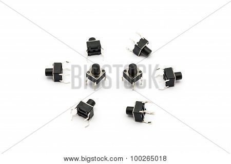 Pile Of Tact Switches