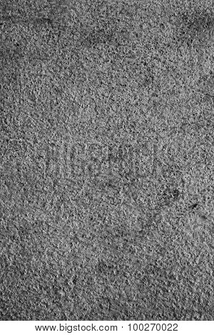 Texture Background Of The Old Wall, Black And White.