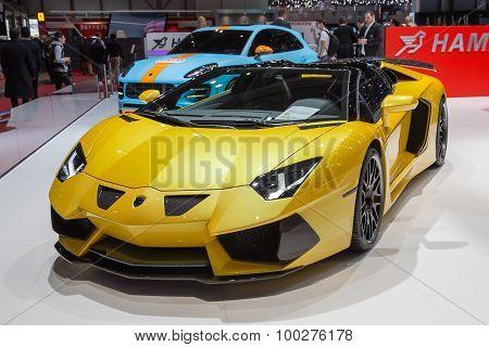 2015 Hamann Lamborghini Aventador Roadster
