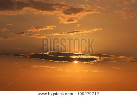 Sunlight Behind The Cloud