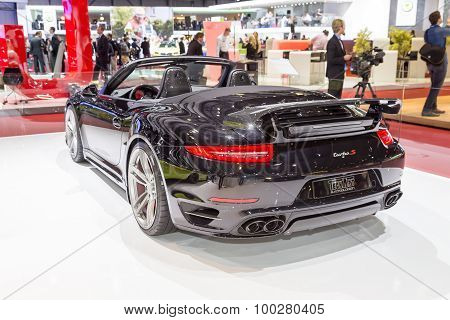 2015 TechArt Porsche 911 Turbo S Cabriolet
