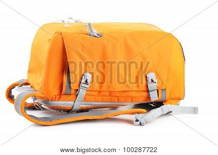 Bag Camera Isolated On A White