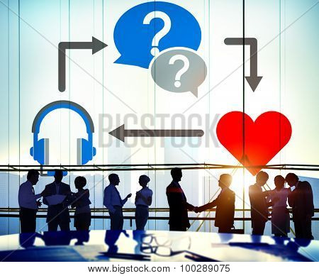 Health Passion Question Listening Sharing Concept