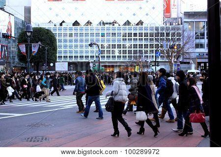 Japan street-shibuya