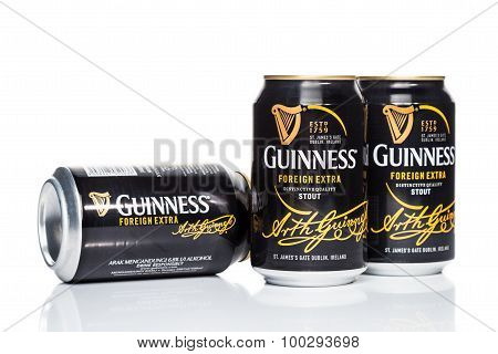 KUALA LUMPUR, MALAYSIA - August 30, 2015: Guinness Stout maintained leadership position in Malaysia