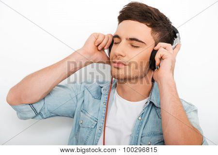 Enjoying Good Music.