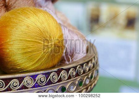 Colorful Silk Yarn