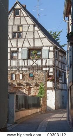 Old Town Of Colmar