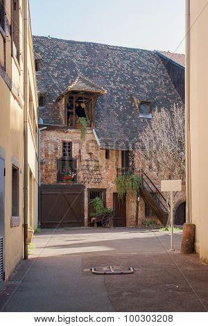 Courtyard In Colmar