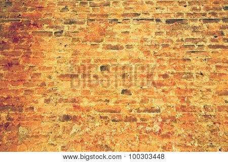 Milan  In Italy Old Church Concrete Wall  Brick   The