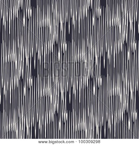 Geometric hand drawn linear seamless pattern