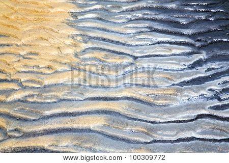Sand In The Beach  Thailand Kho Tao   South China Sea