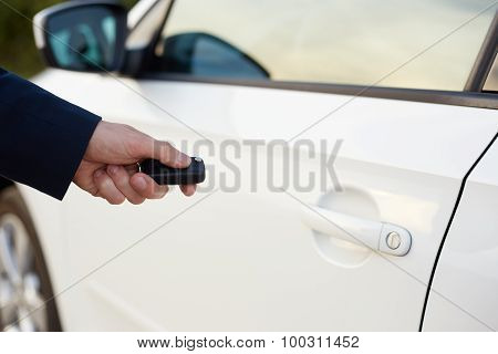 Men's Hand With Key