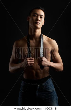 Tough Asian Guy