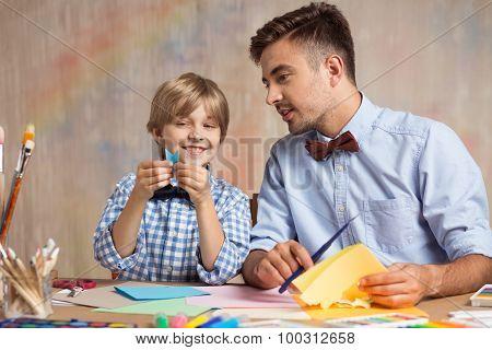 Creative Kid Learning Origami