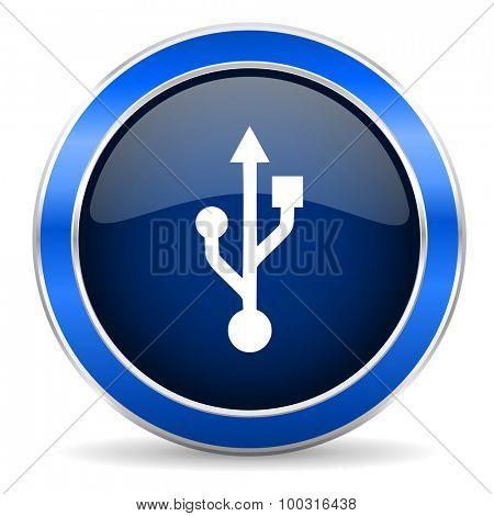 usb icon flash memory sign