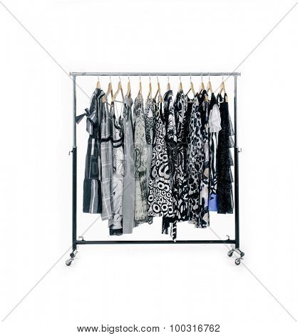 Fashion female,clothes rack display