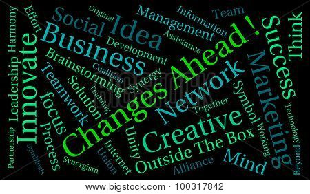 Changes Ahead Word Cloud