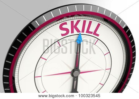 Skill As A Concept Word