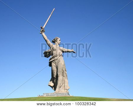 Motherland Calls in Mamayev Kurgan