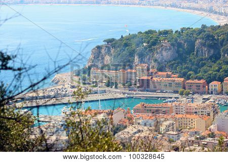Panoramic View Of Nice - Old Harbor Lympia