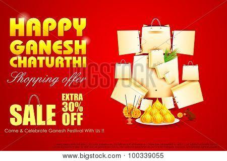 Lord Ganesha for Ganesh Chaturthi Sale offer