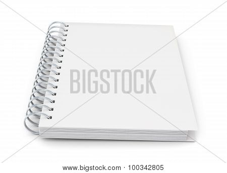 Notebook On A Spring To Your Design