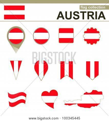 Austria Flag Collection