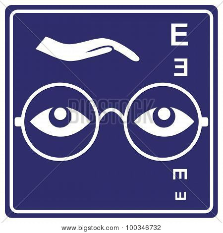 Eye Care Sign