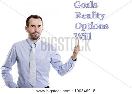Goals Reality Options Will Grow