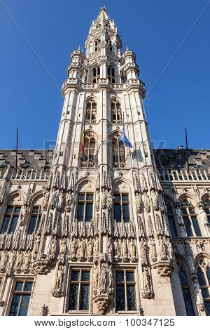 Ancient Town Hall Of Brussels, Belgium