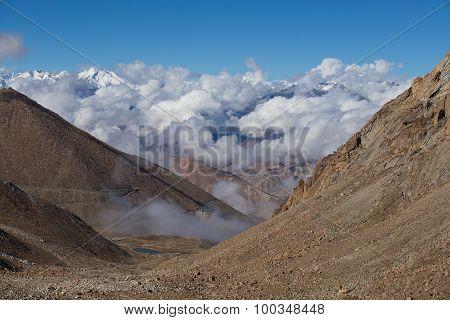 Himalayan Landscape Along Manali Leh Highway. India