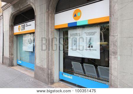 Banco Sabadell, Spain