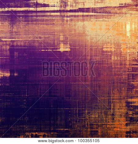 Antique vintage background. With different color patterns: yellow (beige); brown; red (orange); purple (violet)
