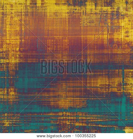 Antique vintage background. With different color patterns: yellow (beige); brown; blue; purple (violet)