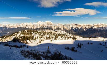 Morning On The Ski Slope