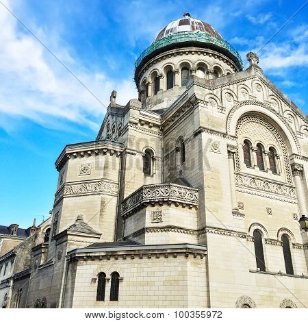 Basilica Of Saint Martin In Tours, France