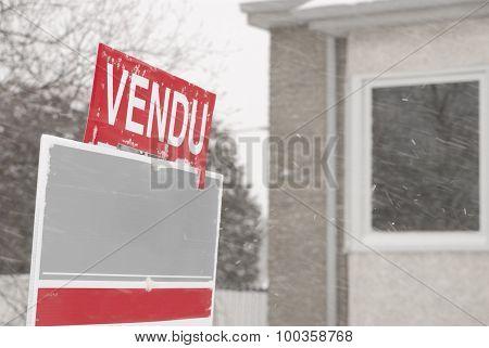 Vendu Sign In French