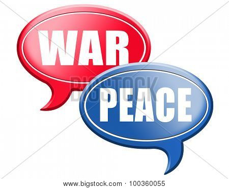 make love not war fight for peace stop conflict and say no to terrorism