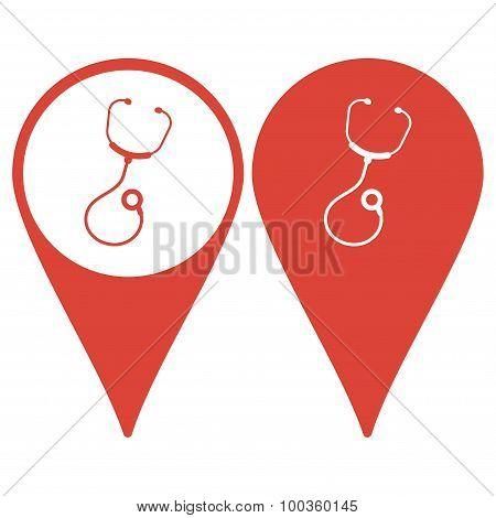 Medical Design. Flat Design Style. Vector Illustration