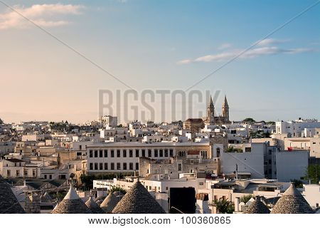 Skyline of Alberobello