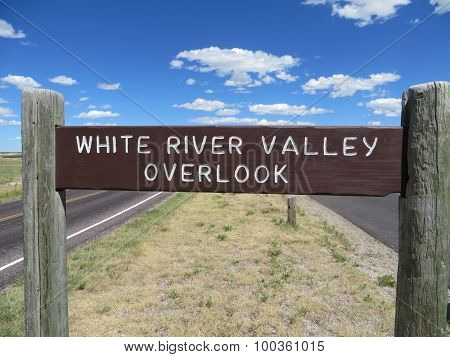 White River Valley Overlook