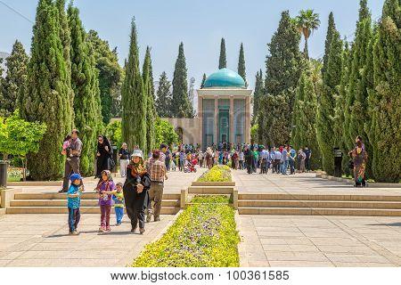 Mausoleum of Saadi poet