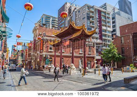Melbourne Chinatown