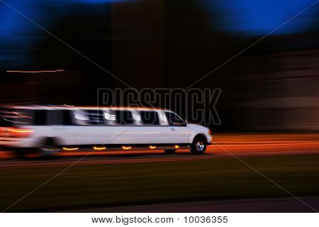 Speeding Limo