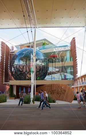 Azerbaijan Pavilion At Expo 2015