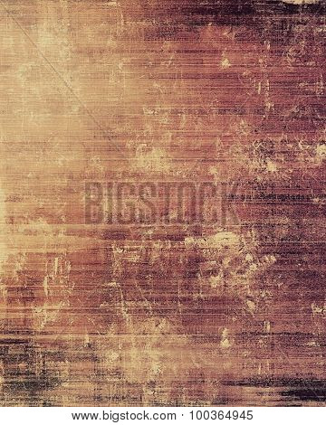 Retro background with old grunge texture. With different color patterns: yellow (beige); brown; pink; purple (violet)